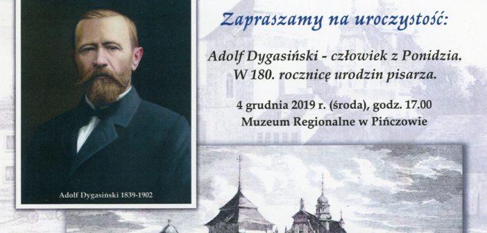 Uroczystości poświęcone 180. rocznicy urodzin Adolfa Dygasińskiego