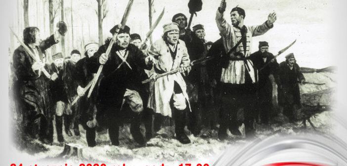 Zapraszamy na obchody 157 rocznicy wybuchu Powstania Styczniowego